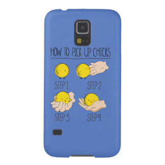 How to pick up of chicks galaxy s5 case