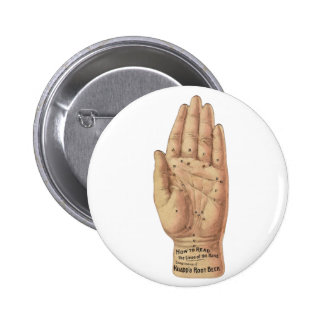 How To Read Palms 6 Cm Round Badge
