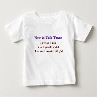 How to Talk Texan: Y'all Tshirts