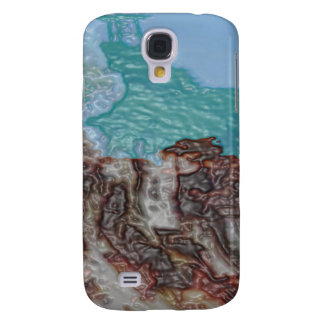 HOW WAX FLOW PAINT LANDSCAPE SAMSUNG GALAXY S4 COVER