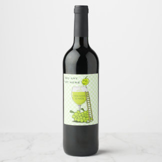 How Wine is Made Add Text Wine Label