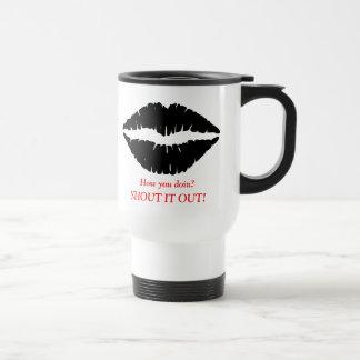 How you doin? Travel Mug