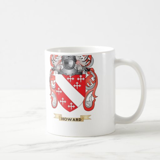 Howard Coat of Arms (Family Crest) Coffee Mugs