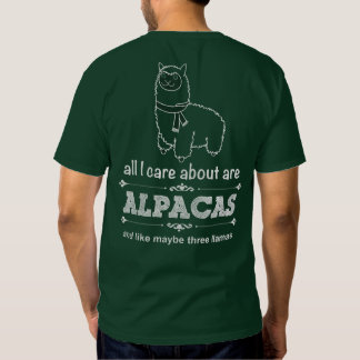 Howard Family Ranch - All I Care About Shirt