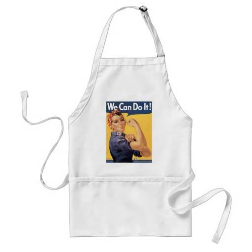 Howard Miller We Can Do It Rosie the Riveter Standard Apron