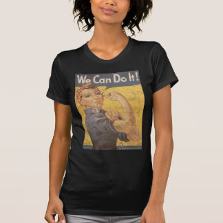 Howard Miller We Can Do It Rosie the Riveter Tee Shirt