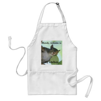 HOWDY, WELCOME TO MY KITCHEN STANDARD APRON