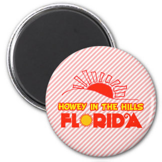 Howey in the Hills, Florida 6 Cm Round Magnet