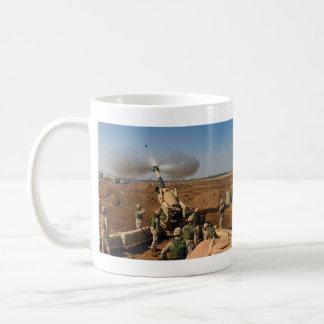 Howitzer Gun Crew United States Marine Corps Basic White Mug