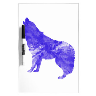 Howl at the Moon Dry Erase Board