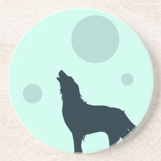 Howl to the Moon Coasters