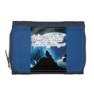 Howl Wolf Wallet