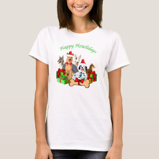 Howliday Dogs Apparel T-Shirt