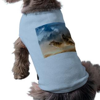 Howlin wolf - wolf art - moon wolf - forest wolf shirt