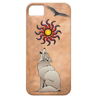 HOWLING COYOTE CASE FOR THE iPhone 5