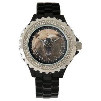 Howling Grizzly Bear Watch