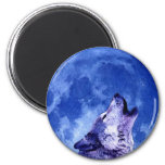Howling Wolf at Moon