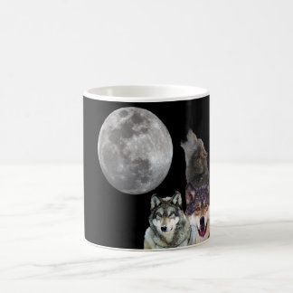 Howling Wolf design Coffee Mug