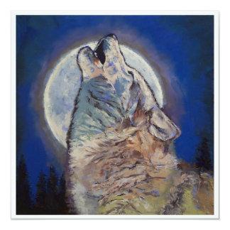 Howling Wolf Invitation