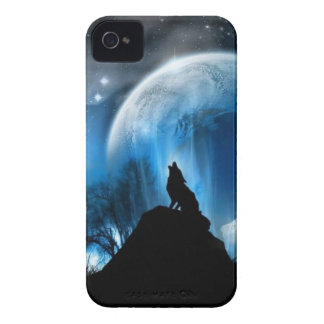Howling Wolf iPhone 4 Case-Mate Cases