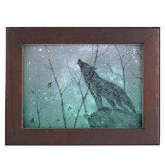 Howling Wolf, Keepsake Box