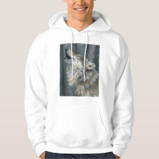Howling Wolf mens or ladies Unisex sweatshirt