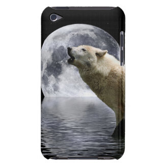 Howling Wolf Moon Wild Animal iPod Case