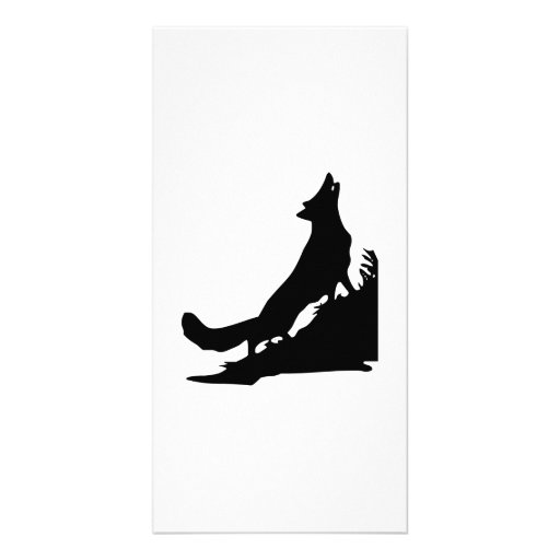 Howling Wolf Photo Card