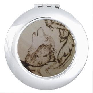 Howling Wolf Vanity Mirror