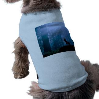 Howling wolf - wild wolf - forest wolf shirt