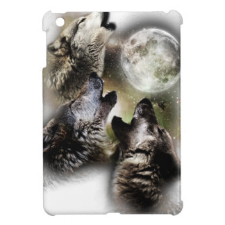 Howling Wolves Moon Cover For The iPad Mini