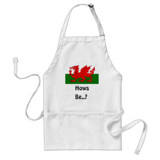 Hows Be welsh apron