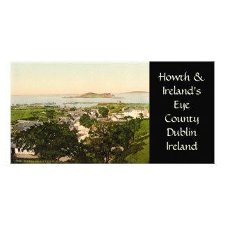 Howth and Ireland's Eye Customized Photo Card