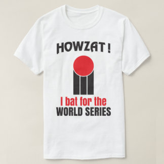 Howzat! Cricket I Bat World Series Retro 70's Tee