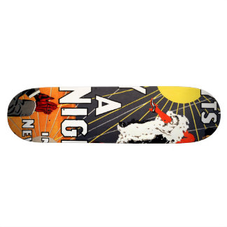 Hoyt's A day and a night in New York 21.3 Cm Mini Skateboard Deck