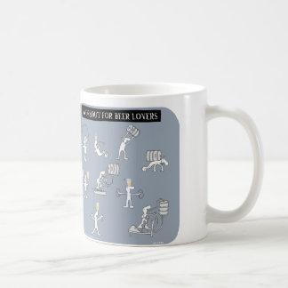 """HP2069 """"Harold's Planet"""" workout beer lovers Basic White Mug"""