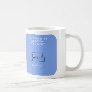 "HP5109 ""Harold's Planet"" sports injuries sofa Basic White Mug"
