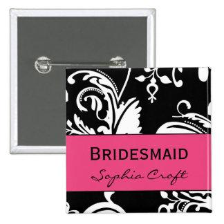 HP&B Bridesmaid Square Button