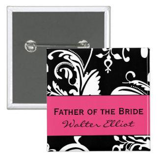 HP&B Father of the Bride Square Button