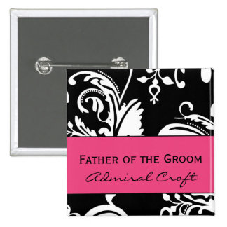 HP&B Father of the Groom Square Button