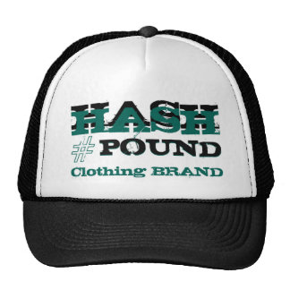 HP Big Pound Trucker black/green Mesh Hat