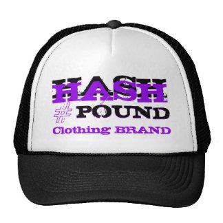 HP Big Pound Trucker black/purp Trucker Hats
