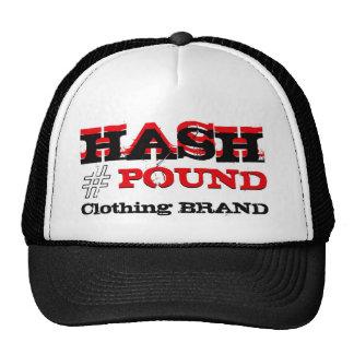 HP Big Pound Trucker black/Red Mesh Hats