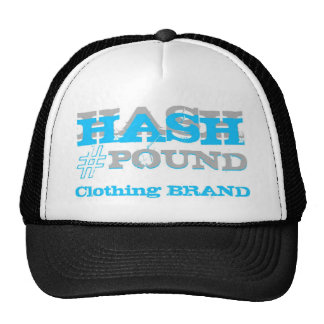 HP Big Pound Trucker black/teal/gray Hat