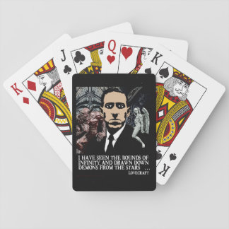 HP LOVECRAFT PLAYING CARDS