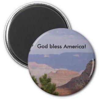 HPIM6736, God bless America! Magnet