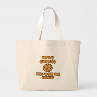 HPLC Expert  .. Will Work for Cookies Tote Bags
