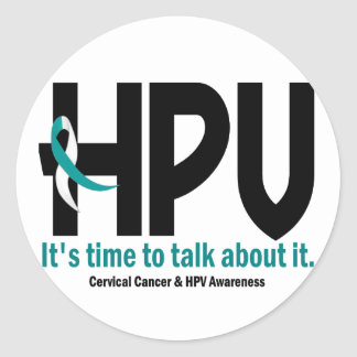 HPV Awareness 1 Stickers