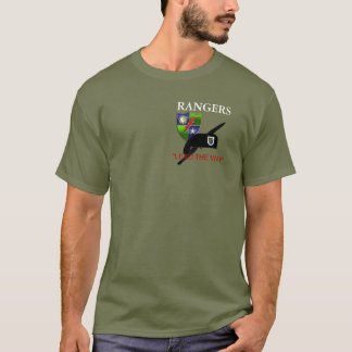 HQ BATTALION 75TH RANGER REGT T-SHIRT