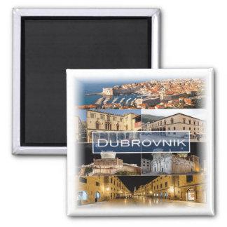HR * Croatia - Dubrovnik Magnet